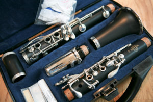 She loved her clarinet so much, but was so bad at cleaning it and putting it away. family photo 2